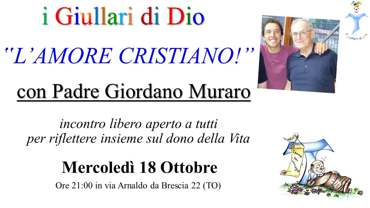 Incontro con Padre Muraro